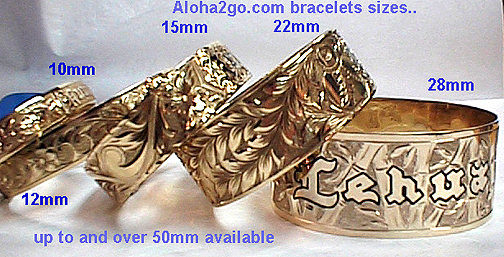 Hawaiian Bangles Bracelets Bracelet Heirloom Jewelry