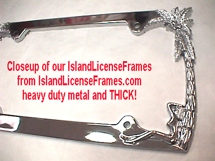heavy duty metal framesay goin last for one long time customization included in any 1 color whatever text going fit