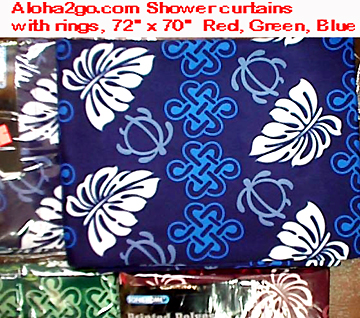 hawaiian Table cloth, hawaiian shower curtains, showercurtain ...