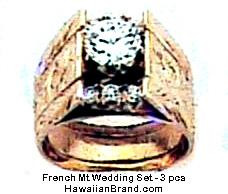 Hawaiian Wedding Ring Sets | Hawaiian Wedding Rings Sets Image Of Wedding Ring Enta Web Org