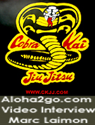 Marc Laimon Cobra Kai Video Interview, watch now